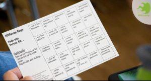 Karte Kennenlernen-Bingo